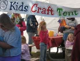 Kid's Craft Tent